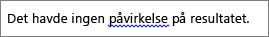 Mulige grammatiske fejl angivet med blå bølgestreg