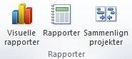Grafik over gruppen Rapporter