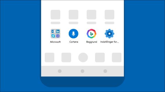 Få en Microsoft-oplevelse på din Android-telefon med appen Microsoft Launcher