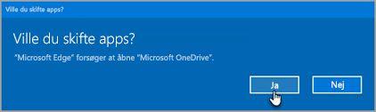 Office 365 Skift apps prompt