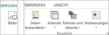 Gruppe 'Bausteine'
