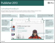 Publisher 2013 - Schnellstarthandbuch