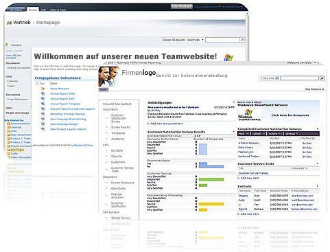 Websites, die Sie mit SharePoint Designer2010 erstellen können