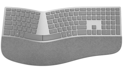 Oberfläche – ergonomisch – Keyboard_en
