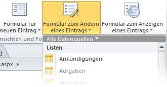 Formulare in SPD