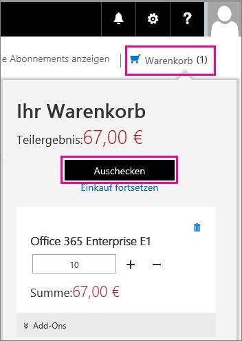 Enterprise E1 in Ihrem Einkaufskorb.