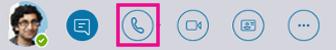 """Schnellzugriff-Symbolleiste mit hervorgehobener Schaltfläche """"Mehr"""""""
