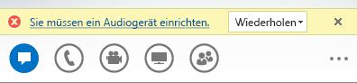 Screenshot einer Fehlermeldung
