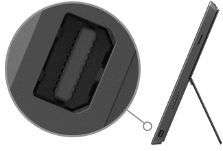 Mini-DisplayPort an Surface Pro und Surface Pro 2