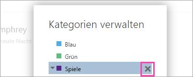 """Ein Screenshot der Schaltfläche """"Löschen"""""""