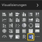 Das neue benutzerdefinierte Visualisierungssymbol