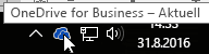 OneDrive for Business-Taskleistensymbol