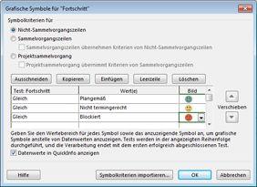 Abbildung Dialogfeld 'Grafische Symbole'