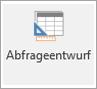 "Menübandsymbol ""Abfrageentwurf"""