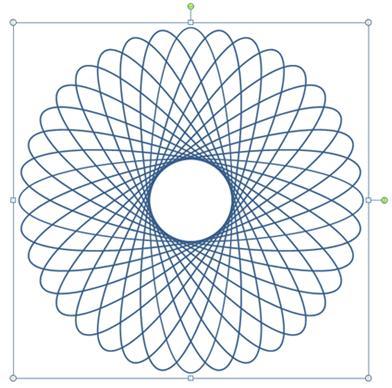 Fertiger Spirograph
