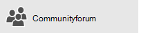 Community Forum button