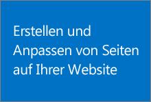 Kurs zum Erstellen und Anpassen von Seiten auf Ihrer öffentlichen Website