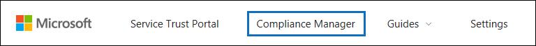 """Klicken Sie auf """"Compliance-Manager"""", um das Tool zu öffnen."""