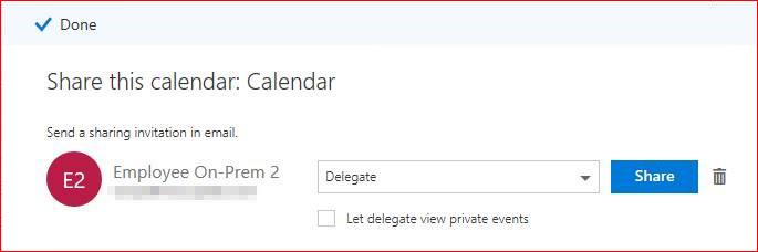 Einen Screenshot der Transportpapierkorb Symbol für die Freigabe dieser Kalenderseite