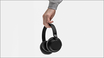 Surface Headphones festhalten