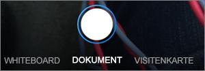 Scan-Optionen für OneDrive für iOS