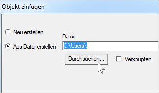 Datei erstellen