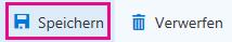 """Schaltfläche """"Speichern"""" auf der Symbolleiste zur Seite """"Unternehmensinformationen"""""""