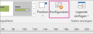 """Registerkarte """"Daten"""", Schaltfläche """"Konfigurieren"""""""