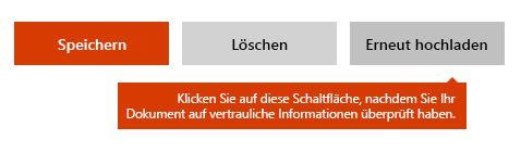 "Option ""Dokument erneut hochladen"" auf Docs.com"