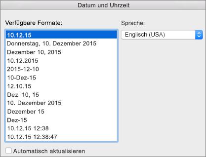 """Dialogfeld """"Datum und Uhrzeit"""""""