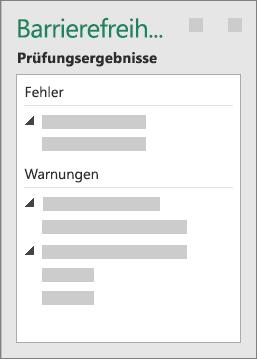 """Gruppe """"Prüfungsergebnisse"""""""
