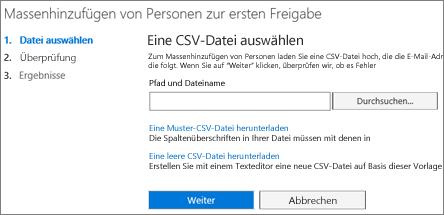 Massenhinzufügen von Benutzern zu Office 365 Release-Programmen