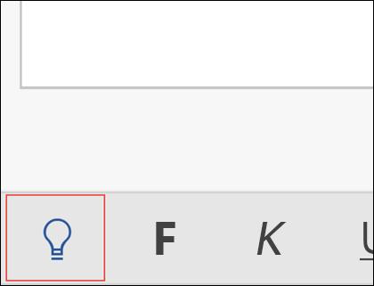 """Klicken Sie auf die Glühbirne, um das Feature """"Sie wünschen"""" zu aktivieren."""