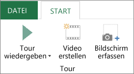 """3D-Karten-Option """"Tour abspielen"""""""