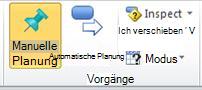 Registerkarte 'Vorgang', Gruppe 'Vorgänge'