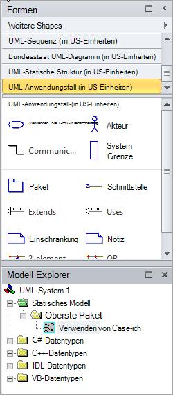 Strukturansicht ist Anwendungsfall-hinzugefügt.