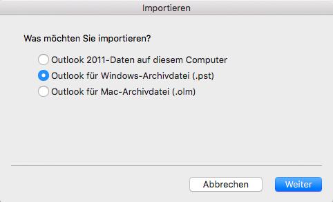 mac adressbuch outlook 2010 importieren