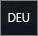 Indikator für englisches Tastaturlayout