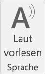 """Symbol """"Laut vorlesen"""""""