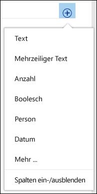 Erstellen einer benutzerdefinierten Ansicht einer Dokumentbibliothek
