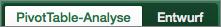 """PivotTable-Registerkarten """"Analyse"""" und """"Entwurf"""""""