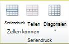Gruppe 'Tabelle verbinden' in Publisher2010