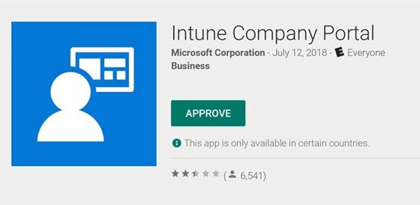 Windows Intune-Unternehmensportal