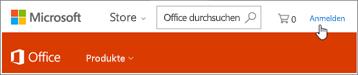 Anmelden bei Office 365