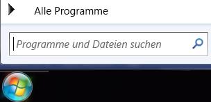 Screenshot zum Durchsuchen von Programmen