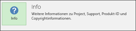 Informationen zu Project