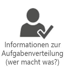 PMO-Informationen zur Aufgabenverteilung (wer macht was?)