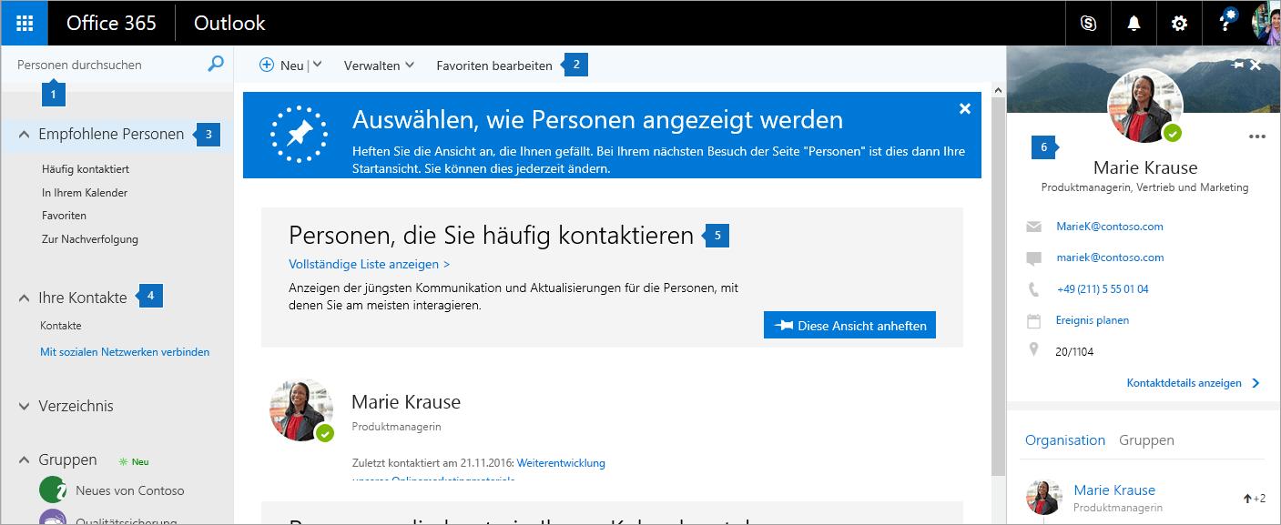 """Screenshot der Seite """"Personen"""""""