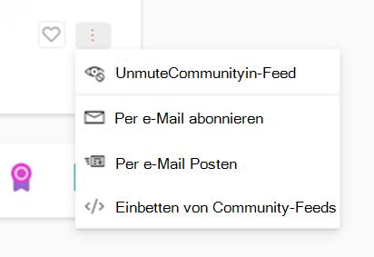 Screenshot mit unmuting einer neuen Community für jammern