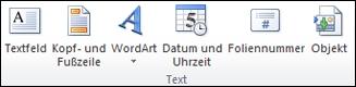 """Gruppe """"Text"""""""